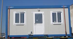 SARAS di Sarroch (prov. di Cagliari): fornitura di uffici prefabbricati modulari e portineria varco ovest