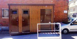 Comune di Villanova Monteleone (prov. Olbia Tempio): fornitura di cabine servizi