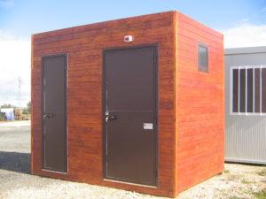 Stintino (provincia Sassari): fornitura di un monoblocco per servizi igienici