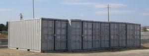 container nuovi primo viaggio Cagliari